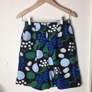 Marimekko XS Cotton Fruits&Veggies Design Shorts